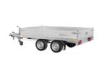Geremde enkelas Saris plateauwagen 276 x 170 cm 2000 kg of 2700 kg