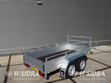 Anssems 1500kg 251x126cm bakwagen, GTT-serie