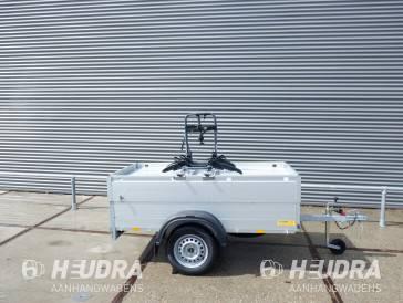 Demomodel ongeremde Anssems bagagewagen GT750 201x101x48cm met fietsendrager