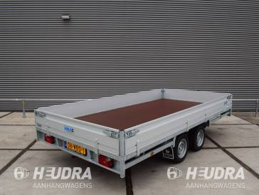 Hulco Medax-2 3000kg 405x203cm plateauwagen