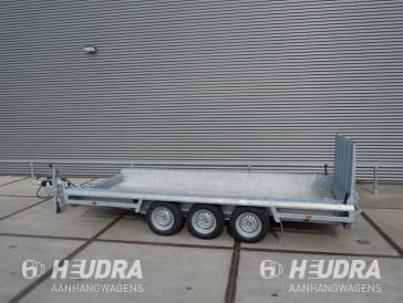 Hulco Terrax-3 3500kg 394x180cm machinetransporter korte klep