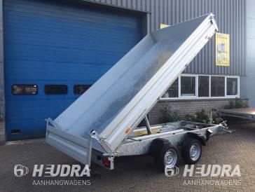 Humbaur 268x150cm driezijdige kipper in diverse uitvoeringen leverbaar
