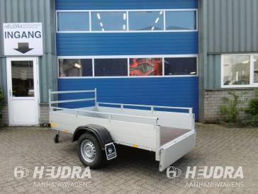 Ongeremde tandemas Anssems bakwagen 1200kg GT-serie 251 x 126 cm