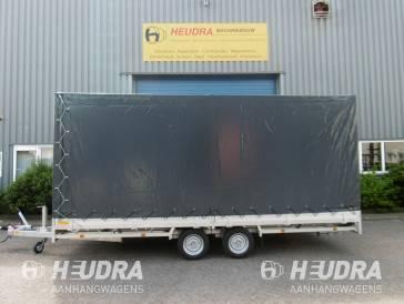 Huif 502x203x180cm voor Hulco Medax plateauwagen