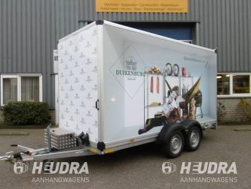 Humbaur 2500kg 418x173x209cm gesloten aanhangwagen