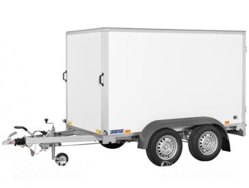 Saris gesloten aanhangwagen 2000kg 256x134x150cm