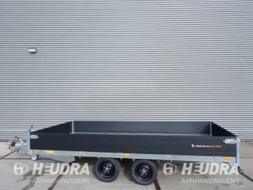 Saris plateauwagen 2700kg 406x204cm