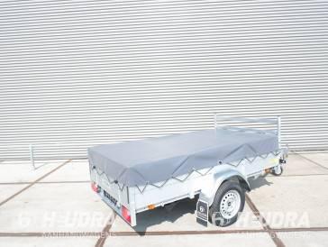 Vlakzeil voor Anssems BSX 251x130cm bakwagen