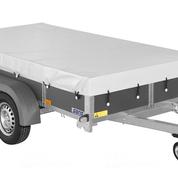 Vlakzeil voor Saris McAlu 305x153cm bakwagen