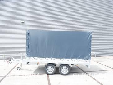 Huif 405x178x150cm voor Anssems PSX plateauwagen