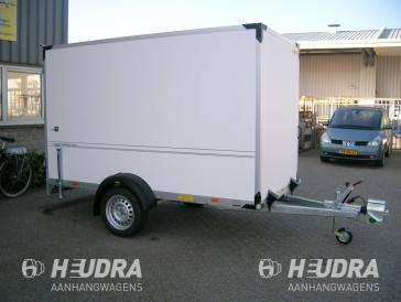 Humbaur 1500kg 304x151x180cm gesloten aanhangwagen