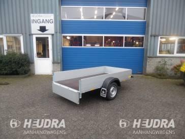 Ongeremde enkelas Anssems bakwagen GT750 kg 251x126cm open bakwagen