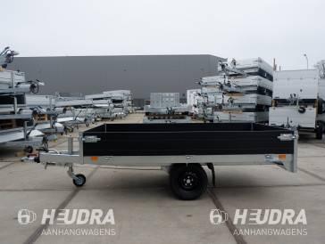 Saris 256x150cm plateauwagen, PL-serie in diverse uitvoering leverbaar