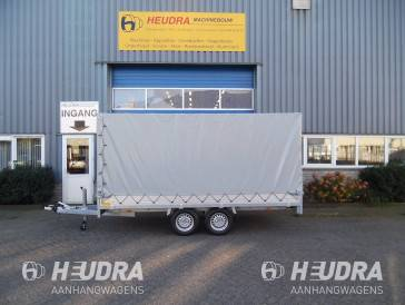 Huif 305x153x180cm voor Anssems PSX plateauwagen