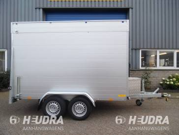 Anssems 2500kg 301x151x188cm gesloten aanhangwagen