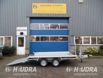 Hulco 3000kg 294x150cm machinetransporter lange klep