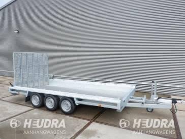 Hulco Terrax-3 3500kg 394x180cm machinetransporter lange klep