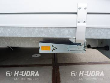 Steunpoot Anssems/Hulco aanhangwagen (set)