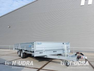 Hulco Medax-2 3000kg 502x203cm plateauwagen