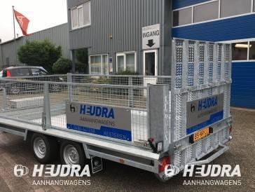 Hulco 3500kg 394x180cm machinetransporter lange klep