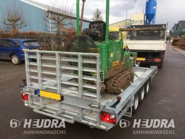 Uniek: de Heudrax, een robuuste machinetransporter op maat