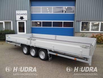 Hulco 3500kg 502x223cm plateauwagen, Medax-3 serie