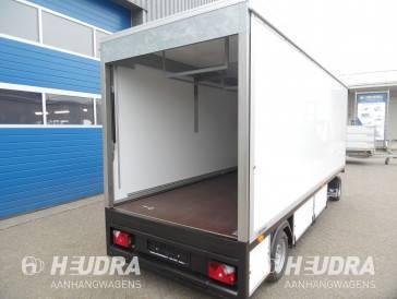 Gesloten marktwagen 500x160x200cm