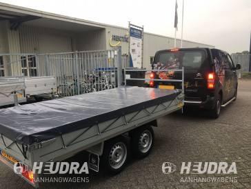 Vlakzeil voor Anssems Basic LT 305x150cm plateauwagen