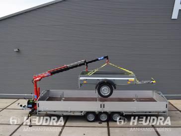Maatwerk Hulco Medax met elektrische laadkraan