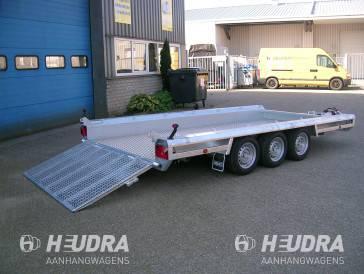 Unieke Heudra machinetransporter 3500 kg 394 x 150 cm