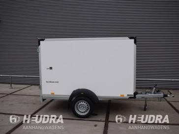 Humbaur gesloten aanhangwagen 1300kg 251x132x152cm