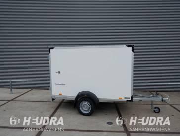Humbaur gesloten aanhangwagen 750kg 251x132x152cm