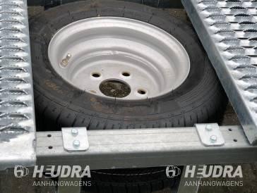 Reservewielsteun voor Humbaur FTK autotransporter