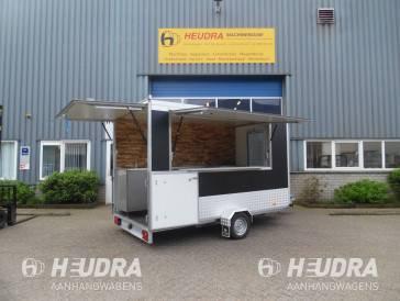Aanhangwagen voorzien van horeca inbouw