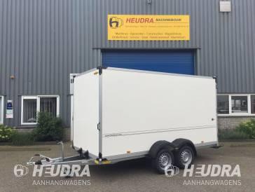 Humbaur 2500kg 407x181x200cm gesloten aanhangwagen