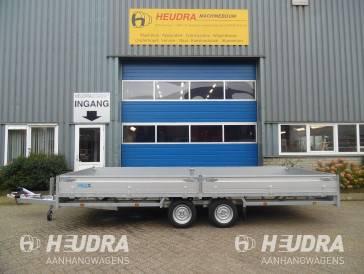 Hulco 3000kg 611x223cm plateauwagen, Medax-2 serie