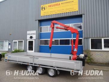 Nieuwe en gebruikte autolaadkranen op aanhangwagens bij Heudra!