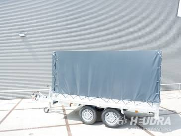 Huif 305x153x150cm voor Anssems PSX plateauwagen