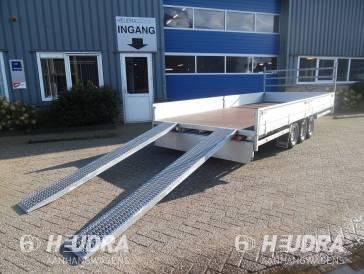 Stalen oprijplaten voor Hulco Medax plateauwagen