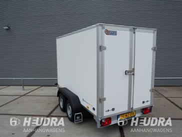 Saris gesloten aanhangwagen 1500kg 306x154x180cm wit/grijs