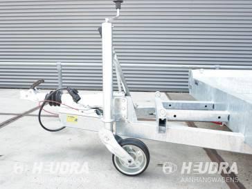 Steunwiel automatisch opklapbaar 500kg 200x50cm