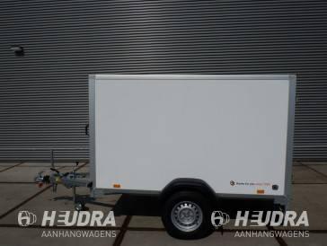 Saris gesloten aanhangwagen 1350kg 256x134x150cm  wit / grijs
