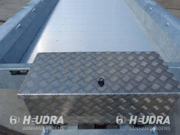 Aluminium disselkist maat L 750x380x280mm