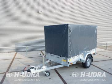 Huif 251x130x180cm voor Anssems BSX bakwagen