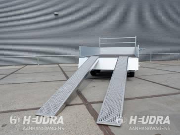 Universele oprijplaten aluminium 1000kg (set)