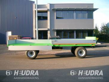 Heudra bomentransport-aanhangwagen op maat