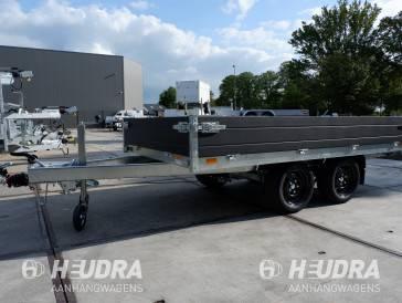Geremde tandemas Saris plateauwagen 306 x 170 cm; 2000 kg, 2700 kg of 3500 kg