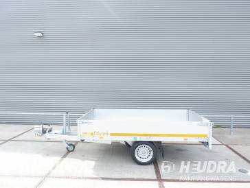 Eduard plateauwagen 256x150cm in diverse uitvoeringen leverbaar