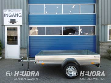 Saris 750kg 206x114cm bakwagen, King-serie