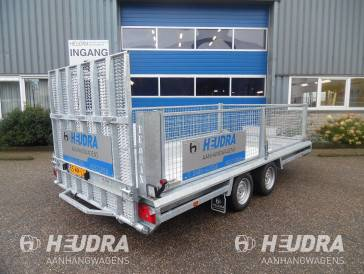 Loofrek op Hulco Terrax machinetransporter